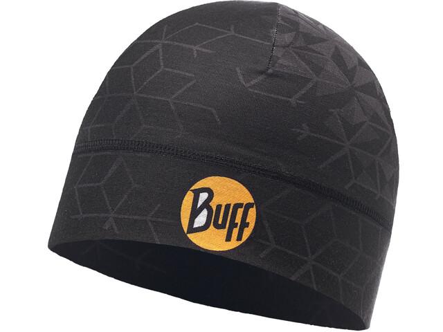 Buff Microfiber 1 Layer Hat Helix Back